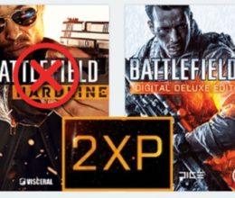 Double XP für Battlefield 3 und Battlefield Hardline abgeschaltet, für Battlefield 4 und Battlefield 1 aber weiterhin aktiv