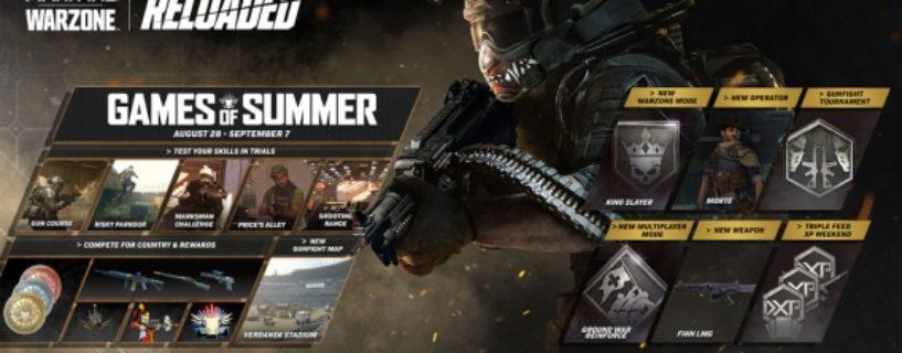 Call of Duty Modern Warfare & Warzone: Neues Update für Season 5 Reloaded veröffentlicht