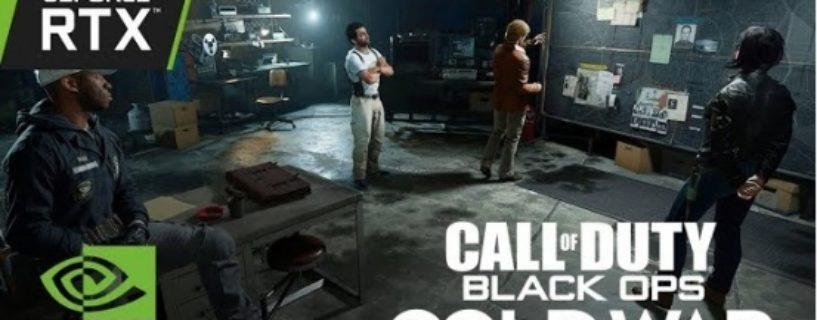 Call of Duty: Black Ops Cold War wird Ray Tracing, Reflex Technology und DLSS unterstützen und hat einen neuen Trailer erhalten