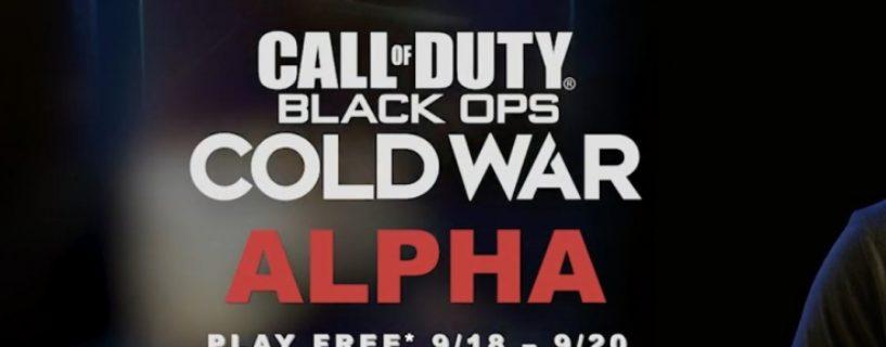 Call of Duty: Black Ops Cold War – Open Alpha für Playstation 4 Spieler an diesem Wochenende