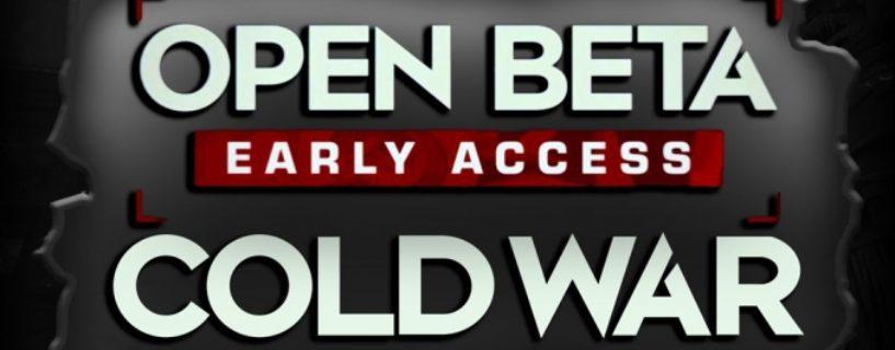 Call of Duty: Black Ops Cold War Beta Trailer: Content, Termine und mehr