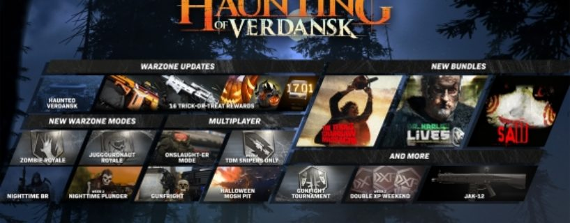 Call of Duty: Modern Warfare und Warzone: Das Update zu Halloween ist da