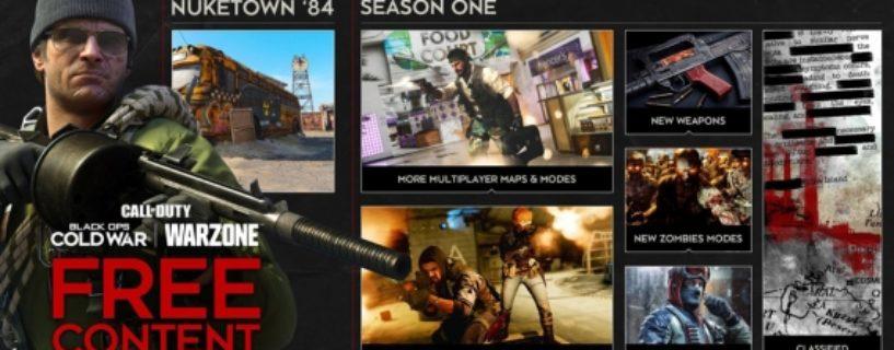Call of Duty Black Ops: Cold War – Season 1 Roadmap bekannt: Gunfight-Modus, Nuketown und neue Waffen
