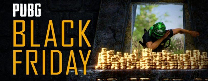 PUBG G-Coin Promotion zum Black Friday und Bonus Skins