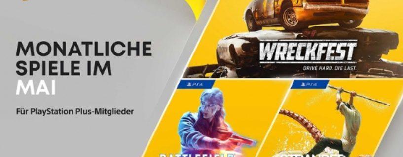 PlayStation Plus Mitglieder erhalten im Mai 2021 unter anderem Battlefield V