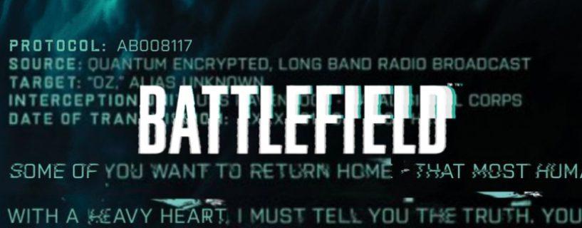 Content-Creator und Influencer erhalten kryptische Battlefield 2021 Nachricht