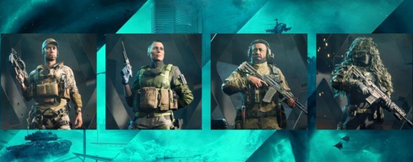 Battlefield 2042 – Informationen zu den ersten vier Spezialisten