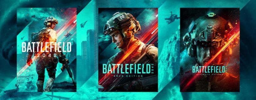 Battlefield 2042 – Die drei unterschiedlichen Versionen, Early Access, Boni und 1 Jahr Season Pass