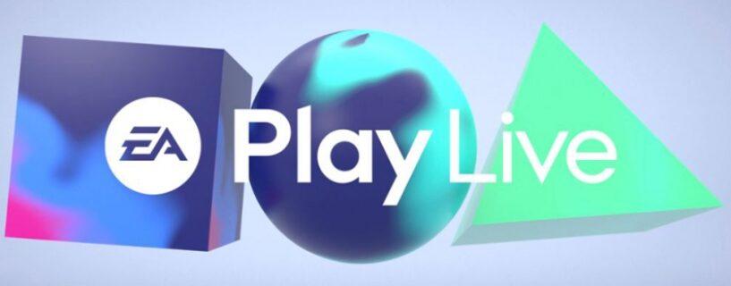 Heute: EA Play Live 2021 –  Termine, Uhrzeit, Spiele und Informationen