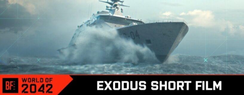 Battlefield 2042: Neuer Teaser kündigt Exodus Kurzfilm für 12. August an