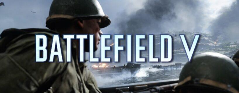 Battlefield V in der Top 10 der Steam Charts